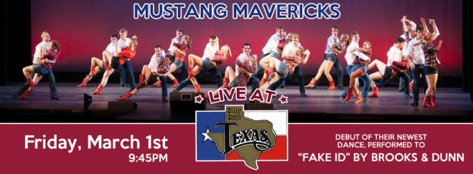 Mustang Mavericks Performance at Billy Bob's Texas